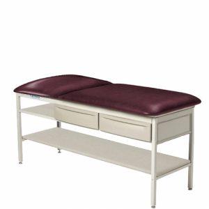 Brewer Element Treatment Table Flat Top, Shelf, Drawers Model#2210