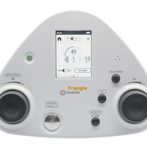 INVENTIS TRIANGLE AUDIOMETER FRONT VIEW